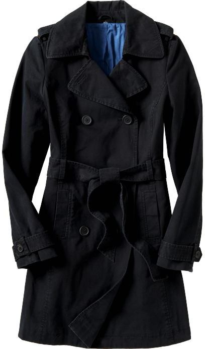 Women's Belted Trench Coats