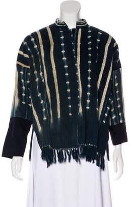 Giada Forte 2017 Dip-Dye Jacket