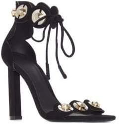 Mercedes Benz Castillo Lyris Suede High-Heel Sandals