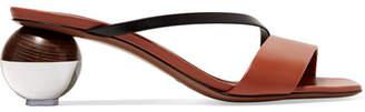 Neous Gia Two-tone Leather Mules