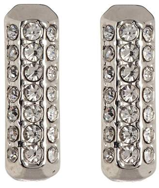 Vince Camuto Pave Elongated Square Stud Earrings
