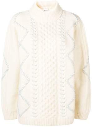 Vilshenko chunky knit jumper