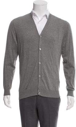 Suitsupply Lightweight Knit Cardigan