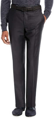 Ermenegildo Zegna Men's Trofeo Wool Trousers