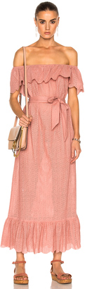 Marysia Swim Off Shoulder Dress $649 thestylecure.com
