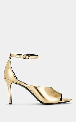 Stella Luna Women's Metallic Leather Ankle-Strap Pumps - Gold