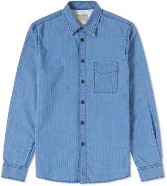 Nudie Jeans Sten Worker Stripes Shirt
