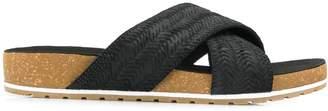Timberland crisscross slip-on sandals