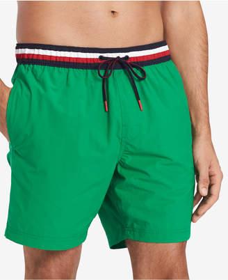 "Tommy Hilfiger Men 7"" Atlantic Swim Trunks"