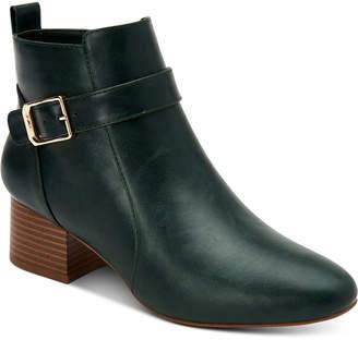 Charter Club Katiaa Buckled Booties, Women Shoes
