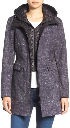 Women's Guess Soft Shell Jacket $138 thestylecure.com