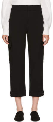 Rag & Bone Black Vera Cropped Trousers