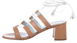 Frances Valentine Gladiator Leather Sandals w/ Tags