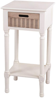 Privilege Pearl Sunday 1 Basket Accent Table