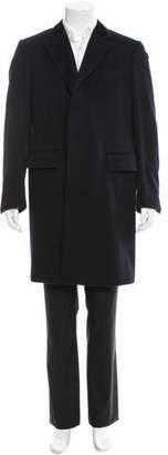Tom Ford Three-Button Wool Overcoat