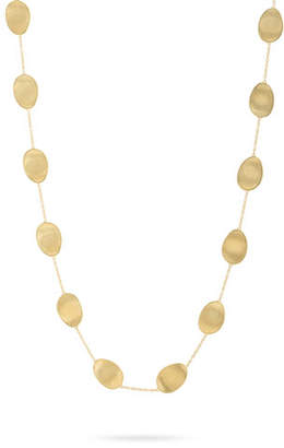 Marco Bicego Lunaria 18k Long Chain Necklace