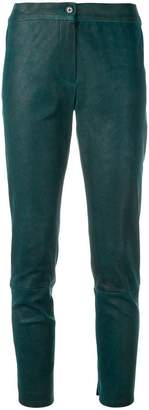 Ann Demeulemeester cropped skinny trousers