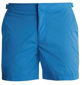 Orlebar Brown Bulldog Sport Mid Length Swim Shorts - Mens - Blue