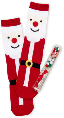 Your Own Soxland Design Realy Ugly Santa Socks