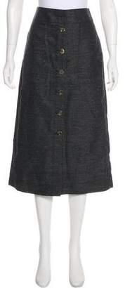 3.1 Phillip Lim Chambray Midi Skirt w/ Tags