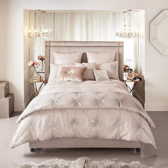 Kylie Minogue At Home at Home - Vanetti Duvet Cover - Blush - Super King
