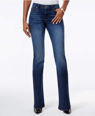 KUT from the Kloth Natalie Curvy-Fit Admiration Wash Bootcut Jeans