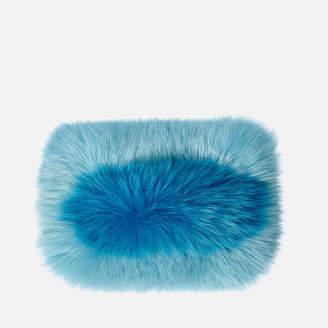 Charlotte Simone Women's Candy Clutch Bag - Pastel Blue/True Blue