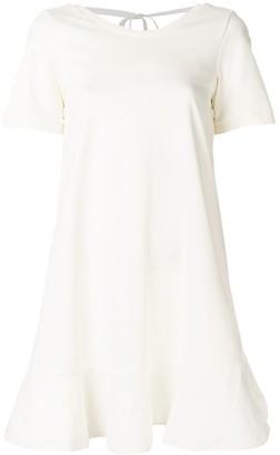Moncler flared mini dress