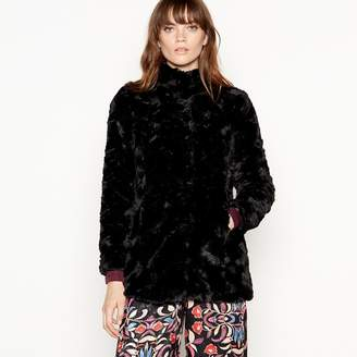 Vero Moda - Black Faux Fur Jacket