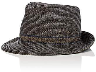 Eric Javits MEN'S PACKABLE SHORT-BRIM TRILBY