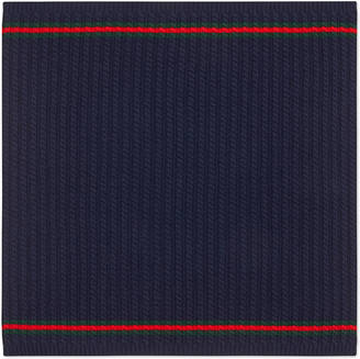 Cable-knit wool baby blanket with Web $365 thestylecure.com