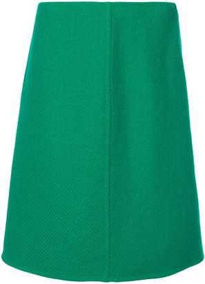 Prada classic A-line skirt