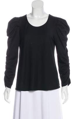 DREW Ruched Long Sleeve Top w/ Tags