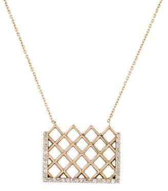 Kismet by Milka 14K Diamond Pendant Necklace