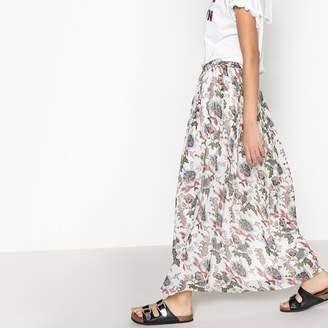 Suncoo Felix Floral Print Maxi Skirt