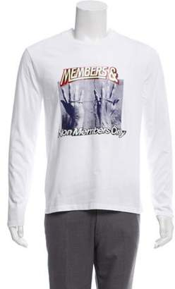 Stella McCartney Members Print T-Shirt white Members Print T-Shirt