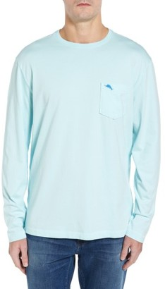 Men's Big & Tall Tommy Bahama 'Bali Skyline' Long Sleeve Pima Cotton T-Shirt $68 thestylecure.com