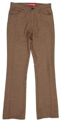 Dolce & Gabbana Cropped Flat Front Pants w/ Tags