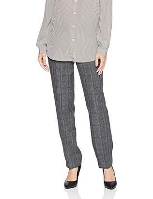 Kasper Women's Plaid Slim Pant
