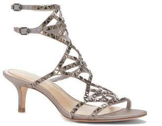 Vince Camuto Imagine Kimbar – Embellished Kitten-heel Sandal