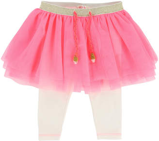 Billieblush Leggings w/ Attached Tulle Skirt, Size 6-18 Months
