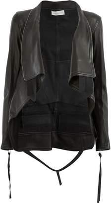 Faith Connexion foldover lapel jacket