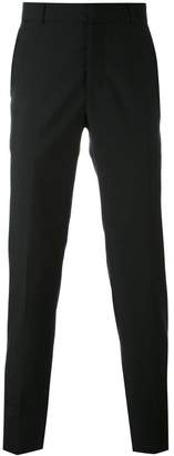 Alexander McQueen slim fit trousers