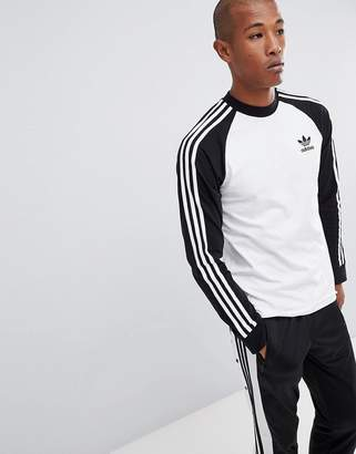 adidas Long Sleeve Top In White DH5793