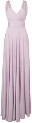 Issa Olivia Deep V-Maxi Dress
