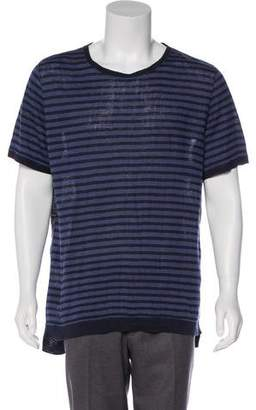 Remi Relief The Golden State Striped Linen T-Shirt