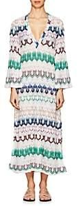 Missoni Mare Women's Striped Geometric-Knit Maxi Caftan