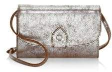 Frye Melissa Metallic Crossbody Wallet
