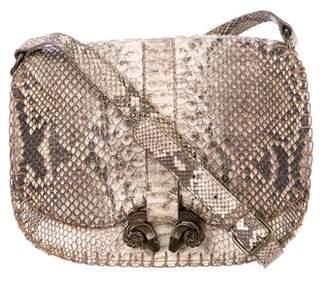 Derek Lam Python Ume Saddle Bag