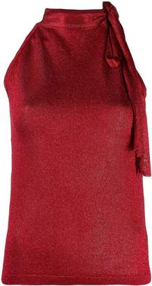 Missoni tie neck blouse